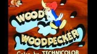 "Woody Woodpecker Intro Вуди Вудпекер заставка ""Угадай Кто?"""