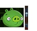 Свинья с лунной палкой