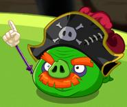 Мертвый капитан пиратов