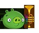 Свинья с трубой