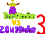 Bad Piggies vs Zombie Pigs 3
