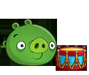 Свинья с барабаном
