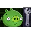 Свинья с гаечным ключом