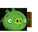Свинья с палкой-0
