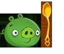 Свинья с золотой ложкой