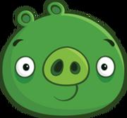 Зелёная Свинка