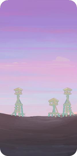 Деревня впереди