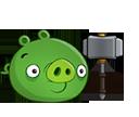 Свинья с молотом