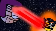 Страж против росомахи птицы икс