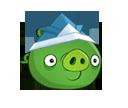 Свинья в бумажной шляпке