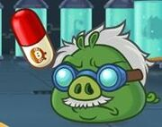 Доктор Свин на уровне