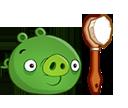 Свинья с щёткой
