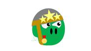 Генерал в костюме