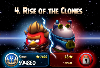 Rise Of The Clones Angry Birds Star Wars Ii Wiki Fandom