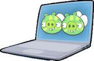 Электросвиньи в ноутбуке