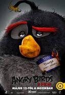 Angry Birds A Film Jellem Poszter (Hungarian)
