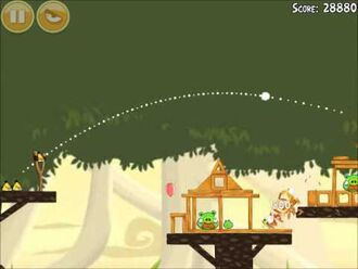 Official Angry Birds Walkthrough Danger Above 6-13