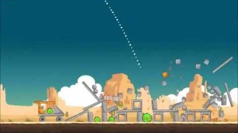 Official Angry Birds Walkthrough Ham 'Em High 12-10
