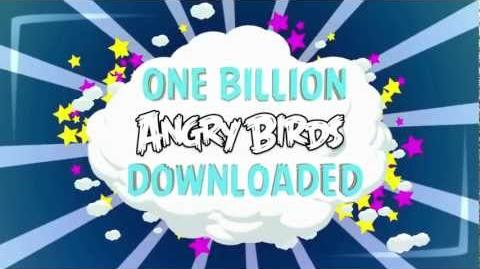 1 BILLION Angry Birds downloads!
