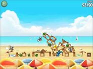 Official Angry Birds Rio Walkthrough Beach Volley 5-2