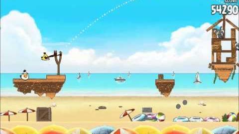 Official Angry Birds Rio Walkthrough Beach Volley 6-9