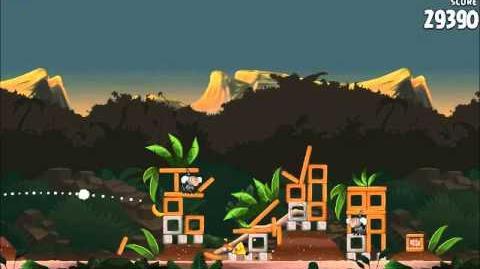 Official Angry Birds Rio Walkthrough Jungle Escape 4-9