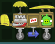 Самолёт свиньи с веснушками