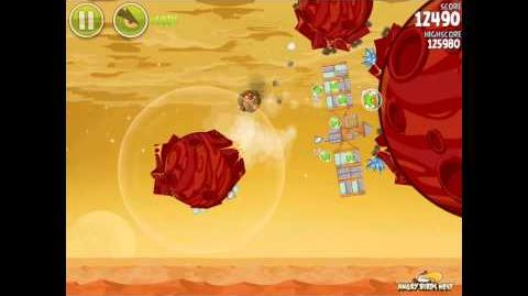 Angry Birds Space Red Planet 5-18 Walkthrough 3 Star High Score Strategy