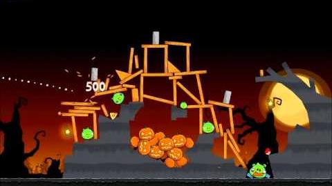 Official Angry Birds Seasons Walkthrough Trick or Treat 2-15
