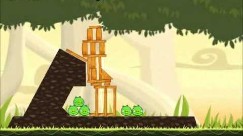 Official Angry Birds Walkthrough Danger Above 6-5