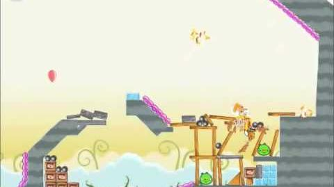 Official Angry Birds Walkthrough Danger Above 8-15