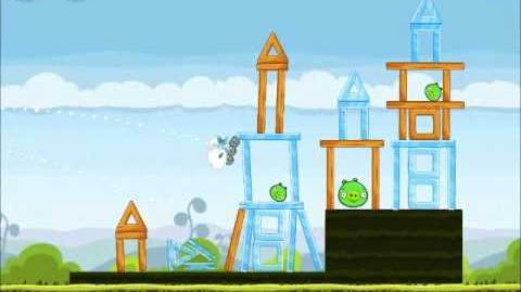 Official Angry Birds Walkthrough Mighty Hoax 4-19