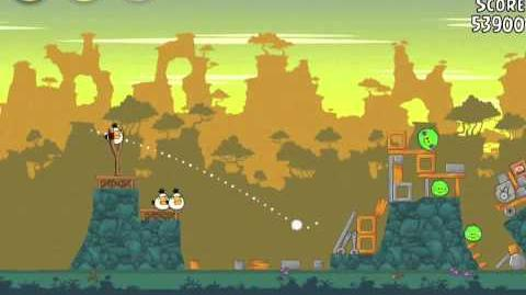 Angry Birds 22-11 Bad Piggies 3 Star Walkthrough (Angry Birds Classic 22-11)