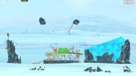 Hoth 3-15 (Angry Birds Star Wars)/Video Walkthrough