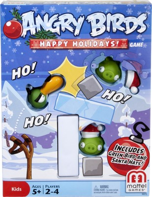 Angry Birds Happy Holidays Game