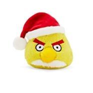 Игрушка рождественской жёлтой птицы