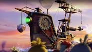 Angry Birds Movie - корабль Леонарда