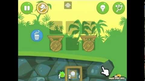 Bad Piggies Ground Hog Day 1-1 Walkthrough 3 Star