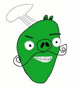 Chef Pig Sketch by Bird-scientist