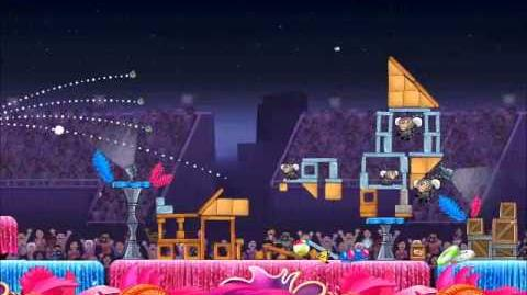 Official Angry Birds Rio Walkthrough Carnival Upheaval 8-3