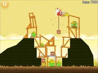 Official Angry Birds Walkthrough The Big Setup 10-15