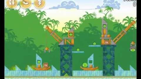 Angry Birds 21-9 Bad Piggies 3 Star Walkthrough (Angry Birds Classic 21-9)