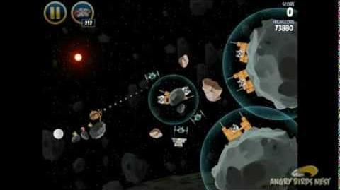 Angry Birds Star Wars 3-27 Hoth 3-Star Walkthrough
