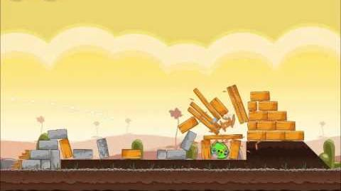 Official Angry Birds Walkthrough Poached Eggs 3-17