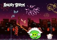Year of the Goat Angry Birds versión china