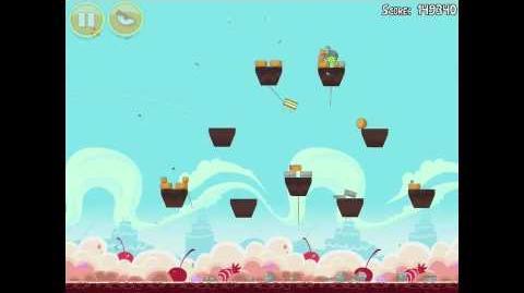Angry Birds Birdday Party 18-5 Walkthrough 3 Star Birthday Party