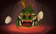 Король свиней смеётся