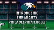 Плакат к Angry Birds Philadelphia Eagles