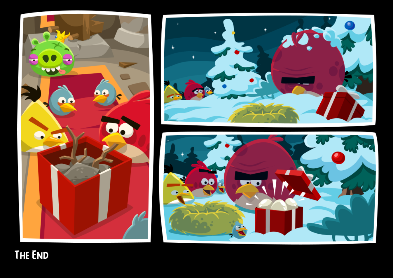 Image - Angry Birds FB Christmas Week 2013 Pic 4.png | Angry Birds ...
