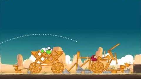 Official Angry Birds Walkthrough Ham 'Em High 12-5